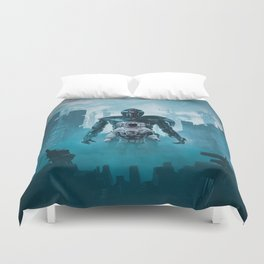 Shadow of the Cyclops Duvet Cover