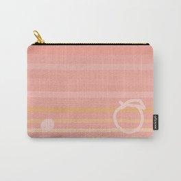 Peach on the Beach Carry-All Pouch