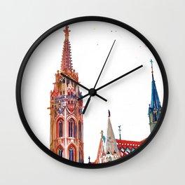Matyas-templom Budapest Wall Clock