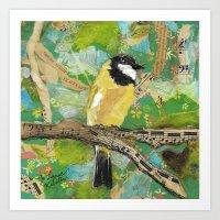 Golden Warbler No. 2 Art Print