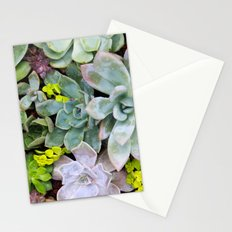 Succulent Carpet Stationery Cards