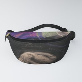 Asteroid Vs Planet Fanny Pack