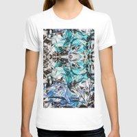 metallic T-shirts featuring Metallic by Lara Gurney