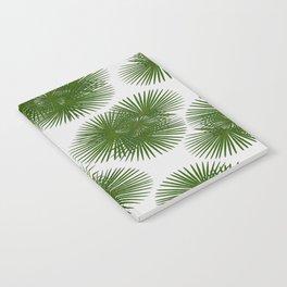 Fan Palm, Tropical Decor Notebook