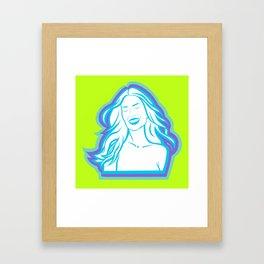 Jolie 17 Framed Art Print
