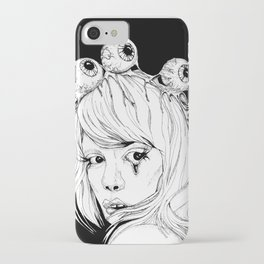BEAUTY BEYOND THE EYE iPhone Case