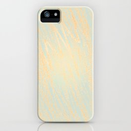 Blue OrangeStained Glass iPhone Case