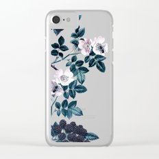 Wild Bee Blackberry Clear iPhone Case