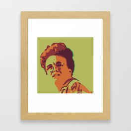 Clint, Brother of Ron Framed Art Print