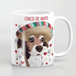 Cinco de Beagle Coffee Mug