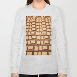 New York City Yellow Taxis Print -  NYC photography Long Sleeve T-shirt