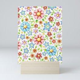 Flower Meadow Mini Art Print