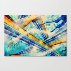 ABSTRACT - Vintage Version Canvas Print