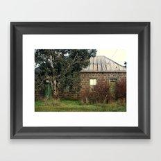 Bluestone Cottage Framed Art Print