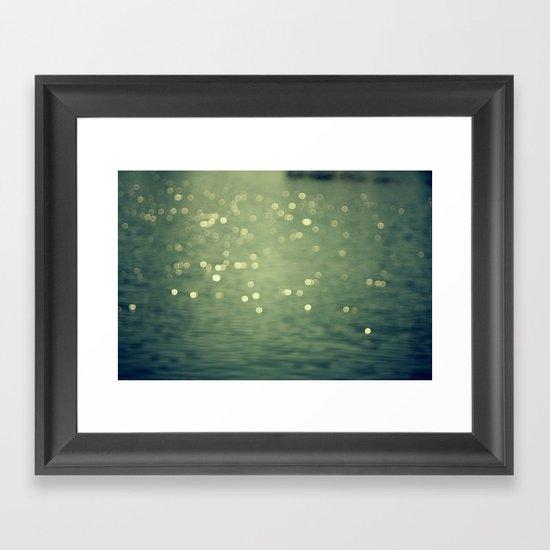 Dancing Light Framed Art Print