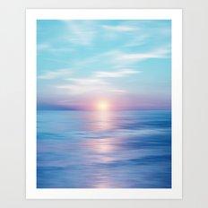 Pastel vibes 45 Art Print