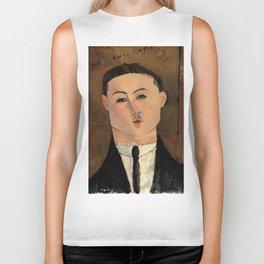 "Amedeo Modigliani ""Paul Guillaume"" Biker Tank"