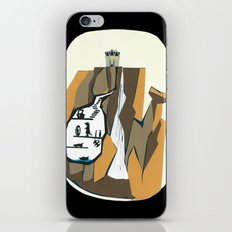 Vigilante Falls iPhone & iPod Skin
