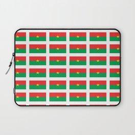 Flag of burkina faso- burkinabe,mossi,fula,ouagadougou,dioula,bobo-dioulasso,sahel,voltaic. Laptop Sleeve