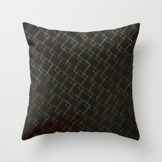 Square Traffic  Throw Pillow