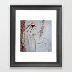 Pure joy Framed Art Print
