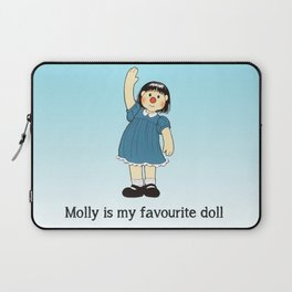 Molly Is My Favourite Doll - The Big Comfy Couch Laptop Sleeve
