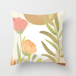 Elegant Shapes 06 Throw Pillow