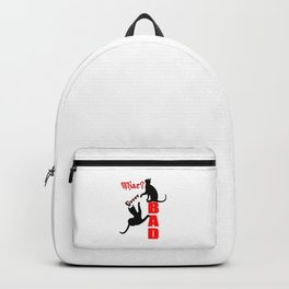 Cheeky Cats in Action Grrrrr Backpack
