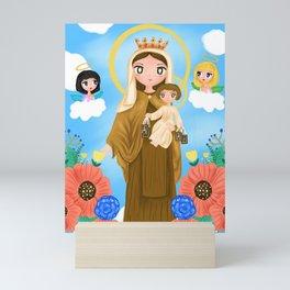 Our Lady of Mount Carmel Mini Art Print