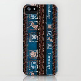 Astro pattern iPhone Case