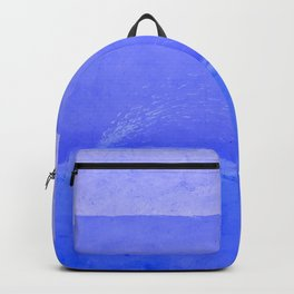 Blue City of Chefchaouen in Morocco Backpack