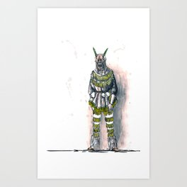 Pagan Costume 4 Art Print