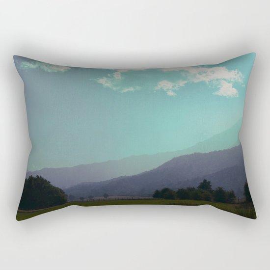 Deep Layers Rectangular Pillow