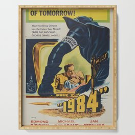 1984 Classic Movie Poster Serving Tray