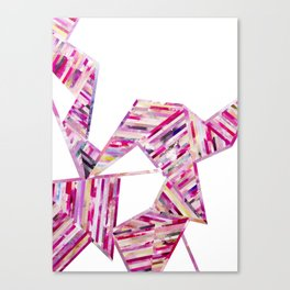LINEA 011 Abstract Collage Canvas Print