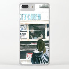 Food Truck Clear iPhone Case