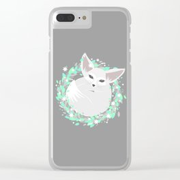 Baby Fennec / Spring Clear iPhone Case