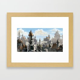 Blue Sky Kingdom Framed Art Print