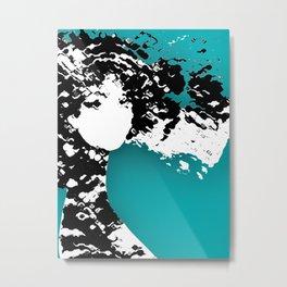LADY SILEX Metal Print