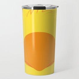 Yellow Chocobo Block Travel Mug