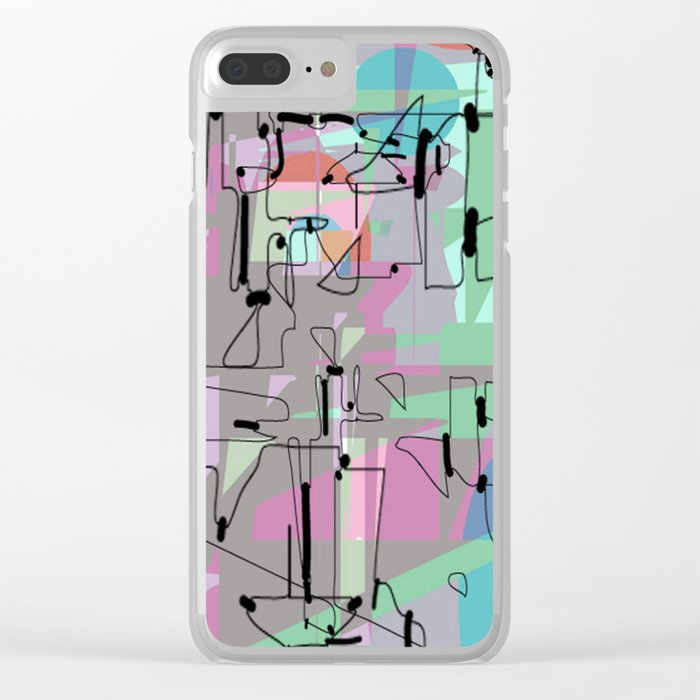 Internet Clear iPhone Case