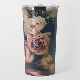 floral vintage pattern Travel Mug