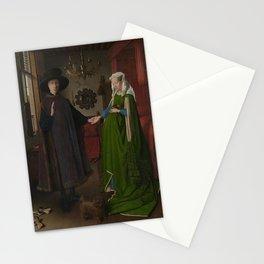 Van Eyck - Arnolfini Portrait Stationery Cards