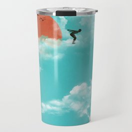 Skydivers (recolor) Travel Mug