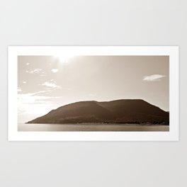 Gaspesie Coast Art Print