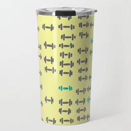 this is the dumbbells! Travel Mug