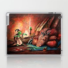 Magician and the Dragon Laptop & iPad Skin