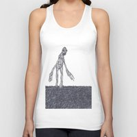 muscle Tank Tops featuring Muscle Man by Nick Gibney