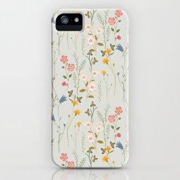 Midsummer Flowers iPhone Case