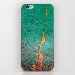 Cracked wall iPhone Skin